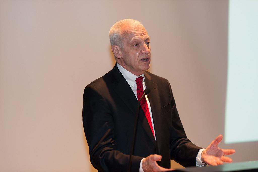 President of Pratt Institute, Thomas F. Schutte.