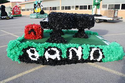 Allen Park Jaguars Homecoming 2009-09-25
