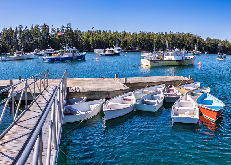 Winter Harbor Town Wharf 3-31-18