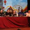 Jury van links naar rechts Martin Beversluis, Jim van Bergen, Marlous Mutsaers, Onias Landveld en Marcelle Hendrikx