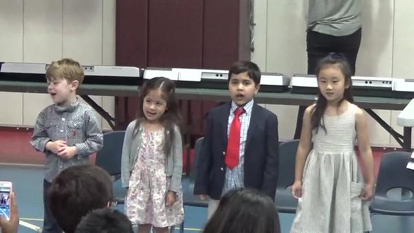 Kindergarten Moving Up Ceremony