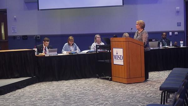 July 26, 2016 Regular MISD School Board Meeting