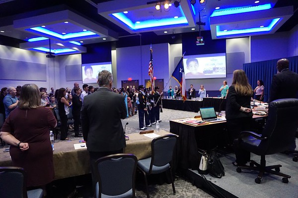 September 26, 2017 Regular MISD School Board Meeting