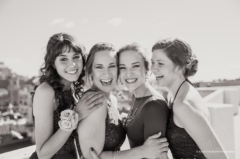 LNHS Prom Izzy Emmett & Friends