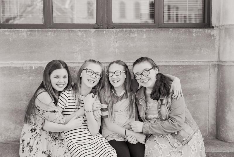 Lauren & 6th Grade Friends