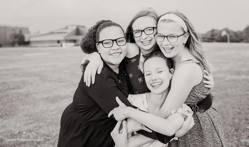 Sasha & 7th Grade Friends