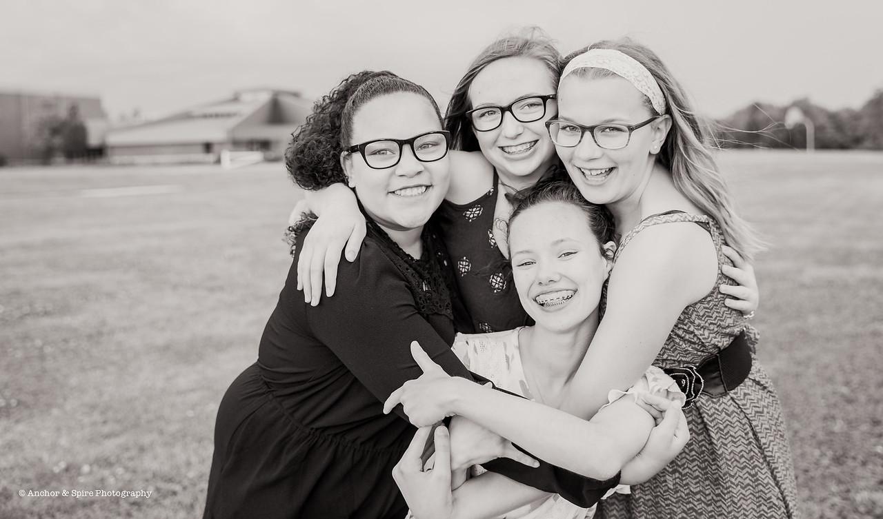 Sasha & Middle School Friends