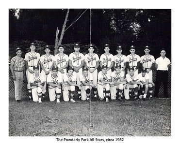 Powderly Park allstars circa 1962
