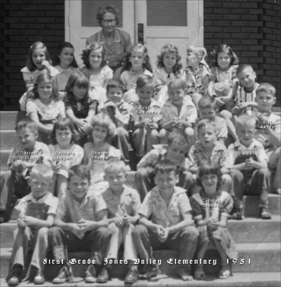 Jones Valley First Grade - 1951