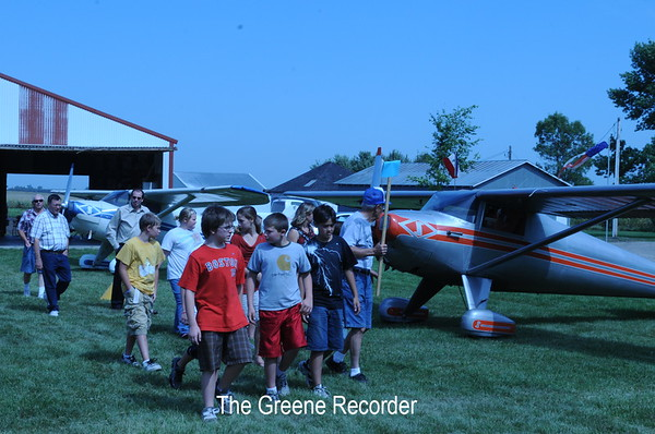 6th Grade Aviation Day in Allison