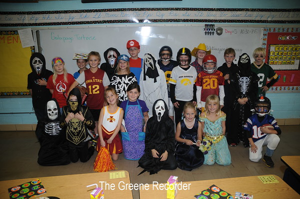Costume Parade at Elementary