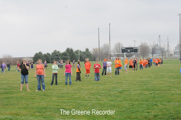 Red Ribbon Relays at Middle School