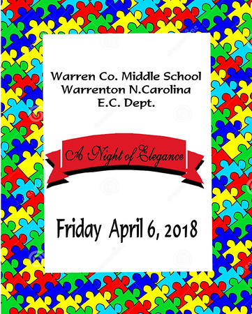 *A Night of Elegance* Warren Co. Middle School E.C. Department