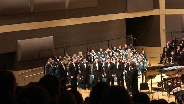 Logan's 2014 Christmas Concert at Farminton HS (Dec 22, 2014)
