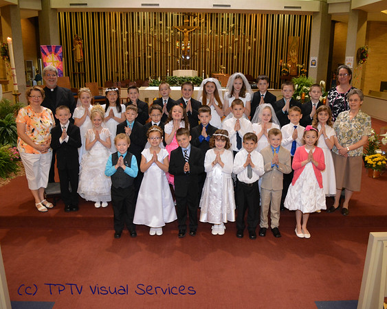 2014 St. John's 1st Communion