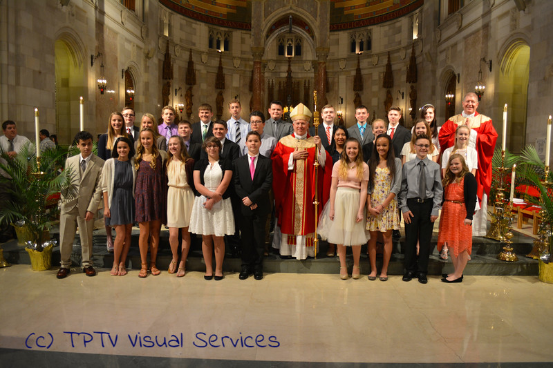 2016 St. John Confirmation