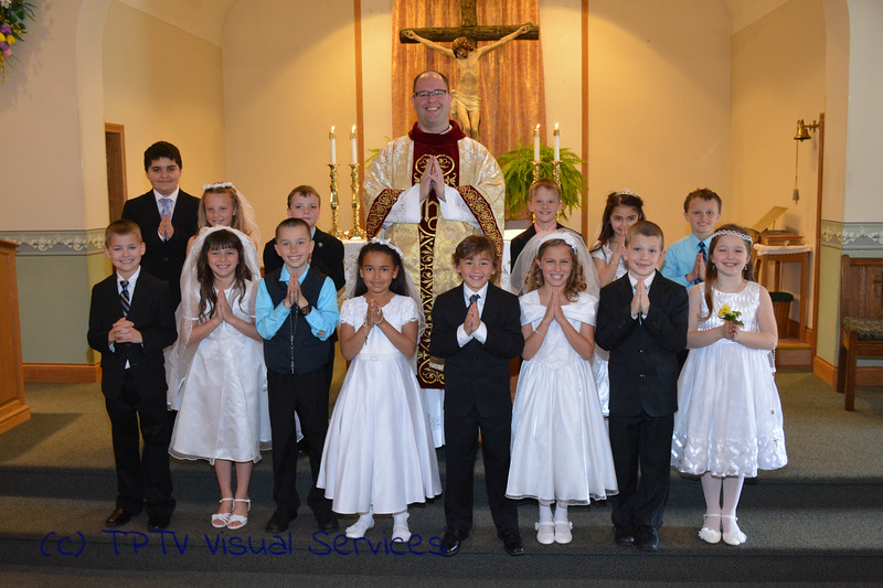 2015 St. Jerome 1st Communion