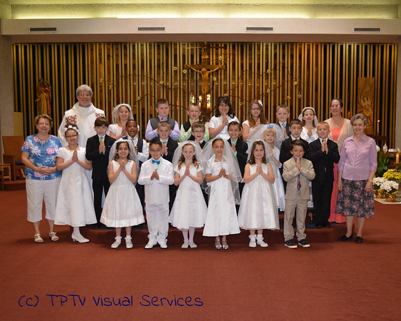 2015 St. John's 1st Communion