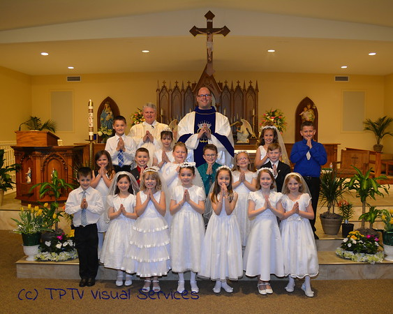 2016 St. Jerome 1st Communion