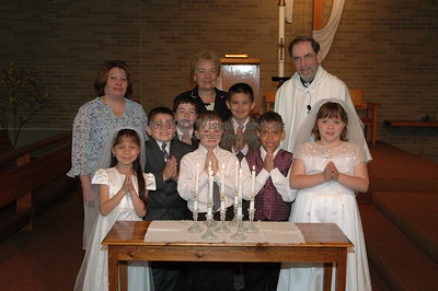 Our Lady of Mt. Carmel - 2006 First Communion