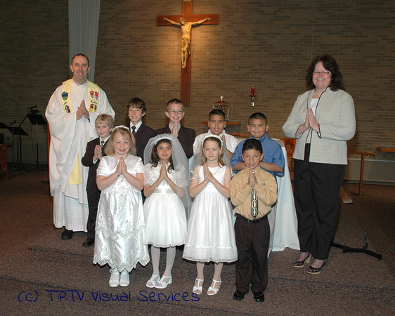 2010 Our Lady of Mt Carmel 1st Communion