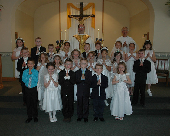 2013 St. Jerome 1st Communion