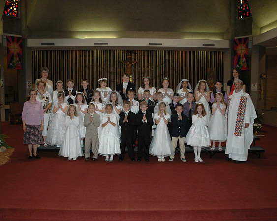 2013 St. John's 1st Communion