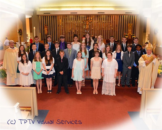 2013-15 St. John the Baptist Confirmations