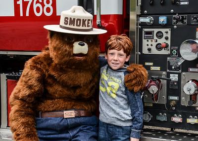 Loma Prieta Elementary With Smokey - May 26. 2015