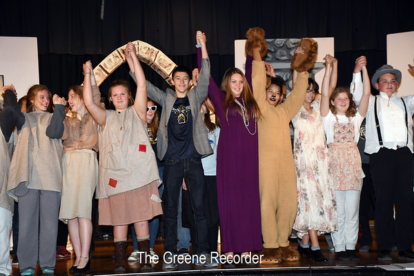 Annie Jr MS Musical 2018