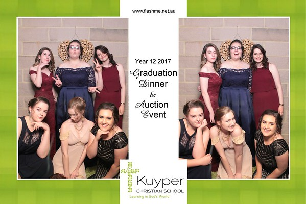 Kuyper Christian School Year 12 2017 Graduation Dinner & Auction Event - 13 November 2017