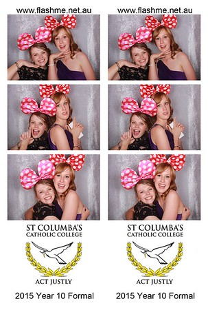St Columba's Year 10 Formal - 20 November 2015