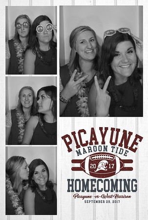 Picayune Memorial High School Homecoming 2017