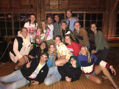 Fall Crew and the Buff Sem Juniors - what a wild night!