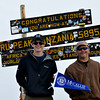 Robert Harris, a sophomore from Franklin, GA, took this picture atop Kilimanjaro!