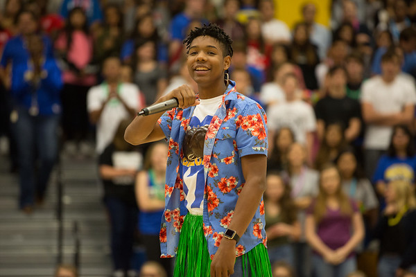 Hawaiian Pep Rally