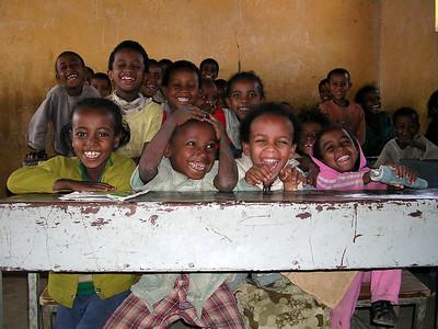 Happy smiles at school