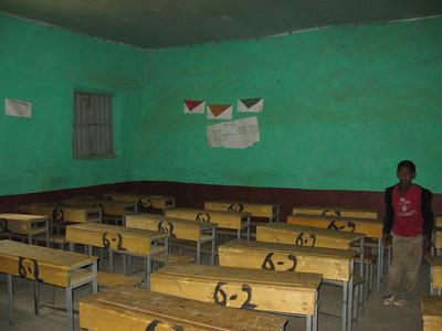 Inside classroom