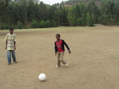 Football at school