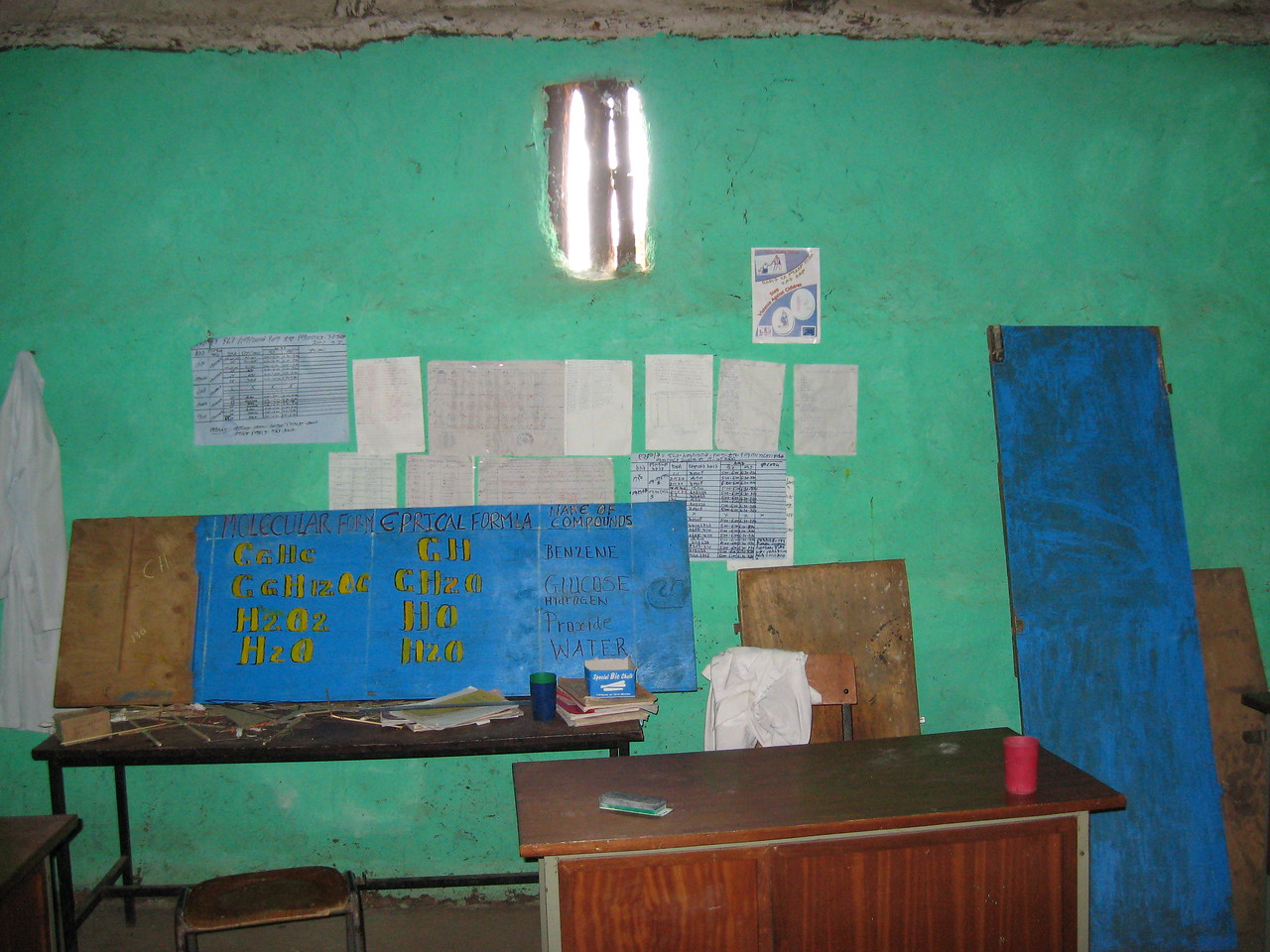 School science classroom