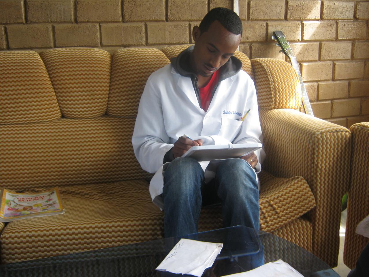 Link Coordinator hard at work.