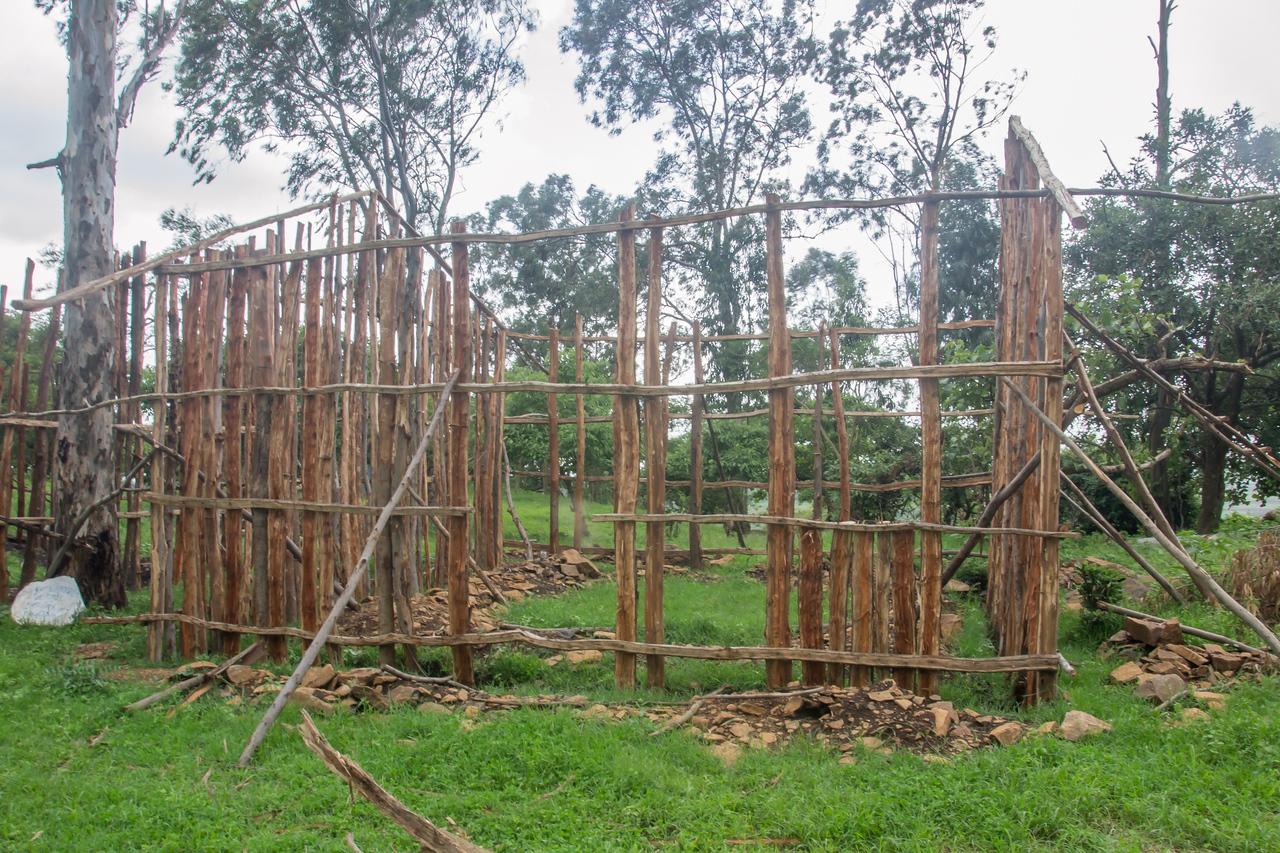 New school laboratory/classroom under construction