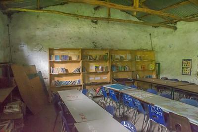 School library interior