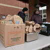 Schools in Fitchburg were still giving out lunches and breakfasts to those students that still need them on Monday, March 23, 2020. At South Street Elementary School they had cereal and chocolate muffins for breakfast. For lunch they made buffalo chicken salad, a yogurt meal and turkey an cheese sandwiches. SENTINEL & ENTERPRISE/JOHN LOVE