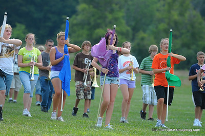 Jonesville Marching Band Camp