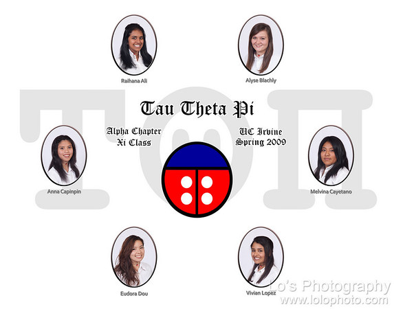 Tau Theta Pi - Alpha Chapter - Xi Class - Composite Shoot