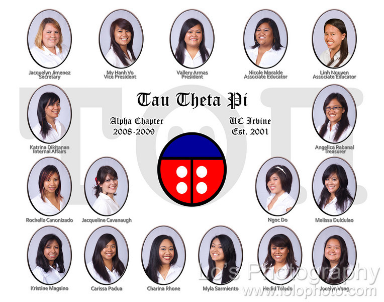 Tau Theta Pi - Alpha Chapter - Composite Shoot - 2009