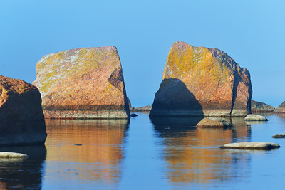Rocks at the coast of Kasmu (captain's village), Estonia