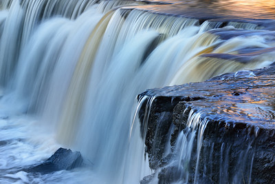 Keila waterfall in Estonia