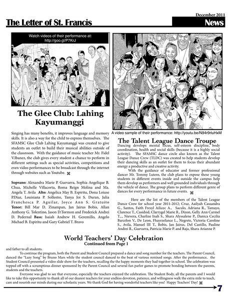 SFAMSC Newsletter December 2011 Page 07